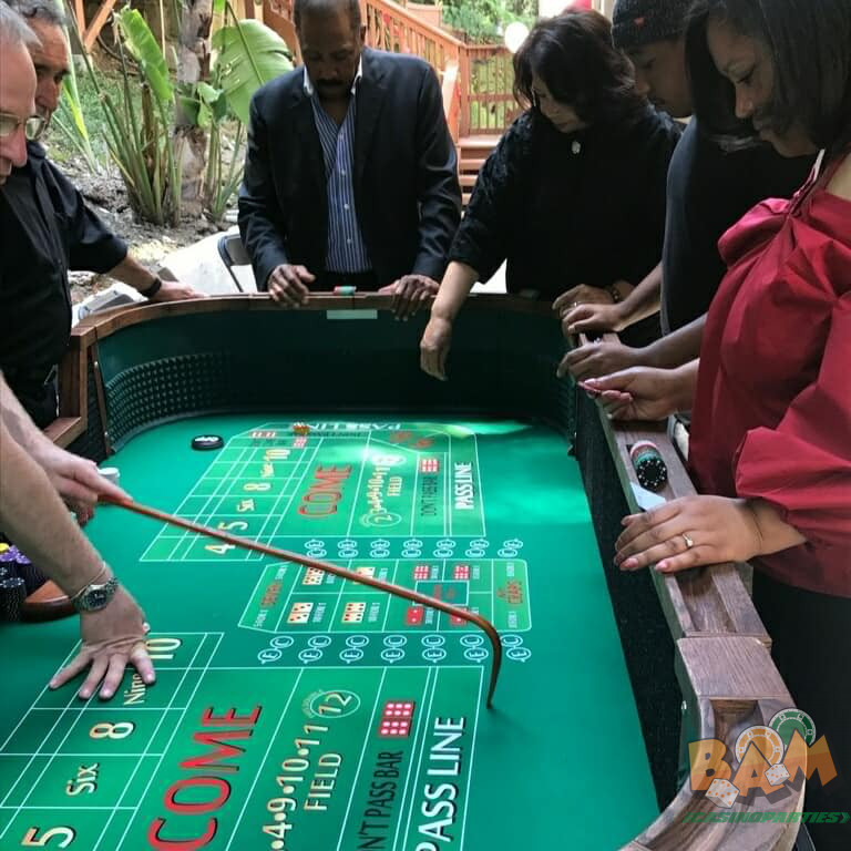 Casino Parties in Burlingame