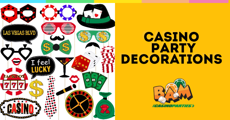 Casino Night Party Decorations
